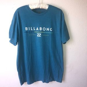 Men's Billabong shirt short sleeve blue XL